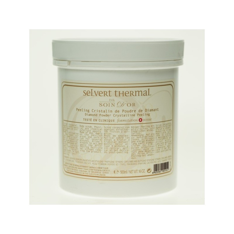 Diamond Powder Crystalline Peeling, Body Kabine